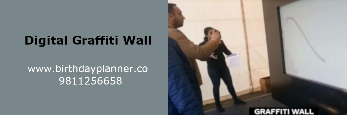 digital graffiti wall on rent