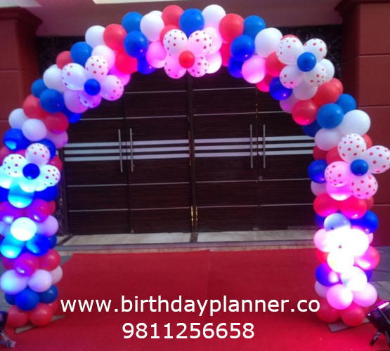 home decoration services for birthday