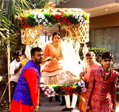 entry ideas for bride