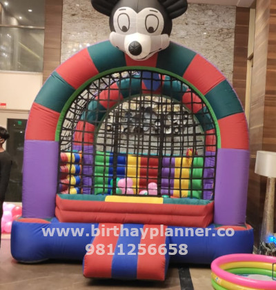 bouncy for hire gurgaon