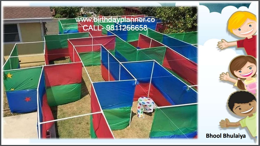 Hire Bhool Bhulaiya game for rent in birthday party