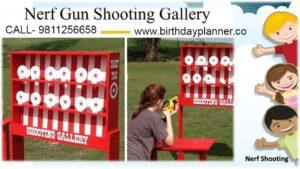 hire Nerf Gun Shooting Game