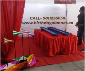 Hire Boat Racing Game for Birthday Party