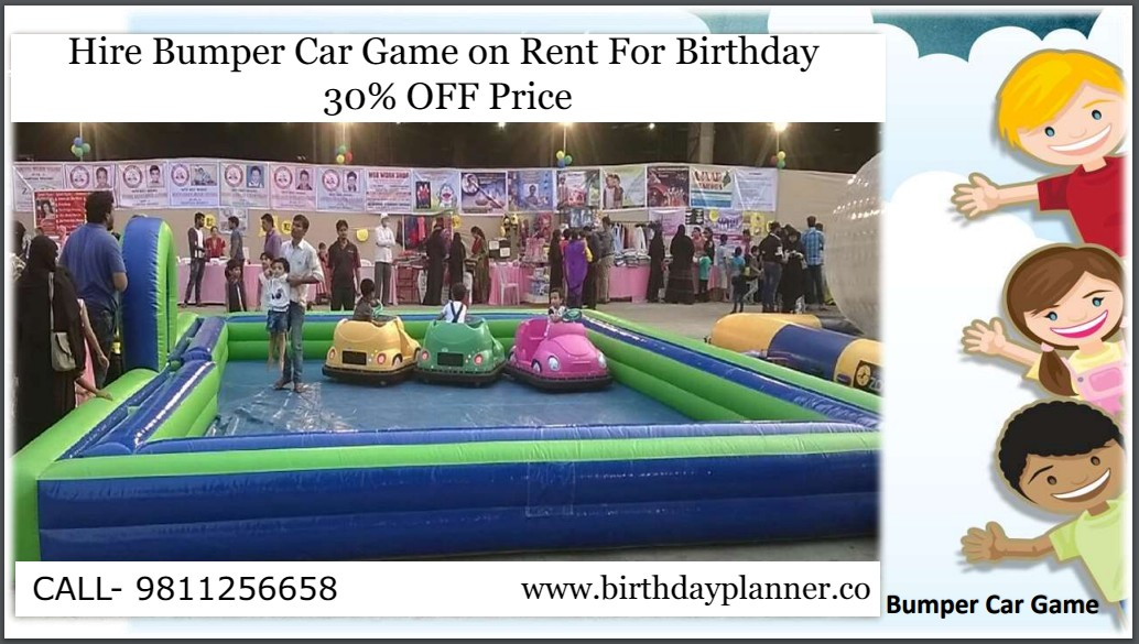 Hire Bumper Car Game on Rent For Birthday
