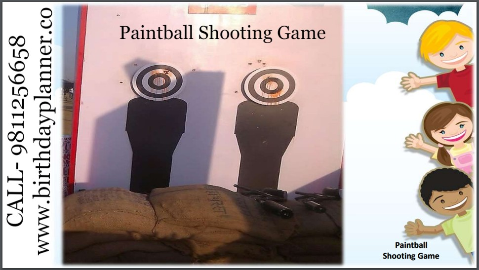 Hire Paintball Shooting Game on Rent for Birthday party