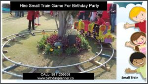 Hire Small Train Game For Birthday Party